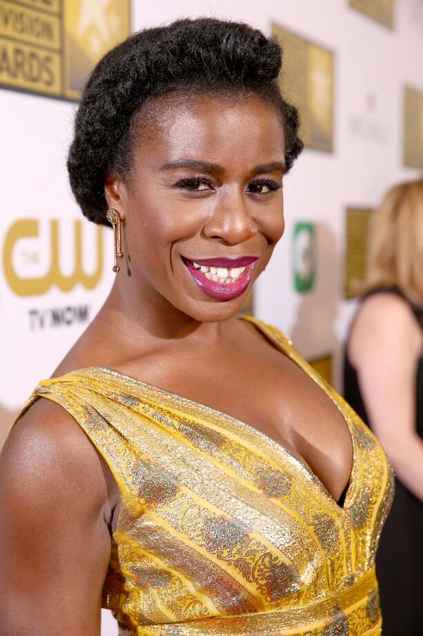 Actress Uzo Aduba attends the 4th Annual Critics' Choice Television Awards at The Beverly Hilton Hotel on June 19, 2014 in Beverly Hills, California.  (Photo by Christopher Polk/Getty Images for Critics' Choice Television Awards) Photo: Christopher Polk