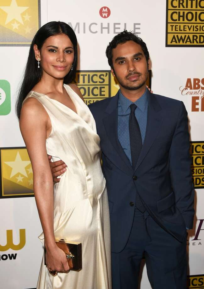 Actor Kunal Nayyar (R) and Neha Kapur attend the 4th Annual Critics' Choice Television Awards at The Beverly Hilton Hotel on June 19, 2014 in Beverly Hills, California.  (Photo by Jason Merritt/Getty Images for Critics' Choice Television Awards) Photo: Jason Merritt