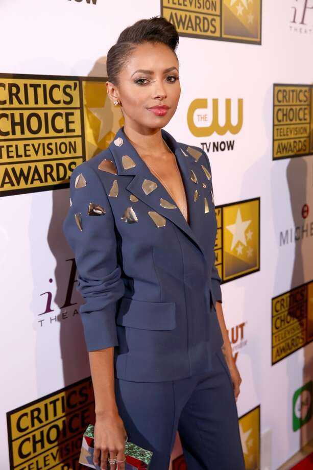 Actress Kat Graham attends the 4th Annual Critics' Choice Television Awards at The Beverly Hilton Hotel on June 19, 2014 in Beverly Hills, California.  (Photo by Christopher Polk/Getty Images for Critics' Choice Television Awards) Photo: Christopher Polk