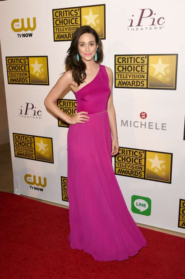 Actress Emmy Rossum attends the 4th Annual Critics' Choice Television Awards at The Beverly Hilton Hotel on June 19, 2014 in Beverly Hills, California.  (Photo by Jason Merritt/Getty Images for Critics' Choice Television Awards) Photo: Jason Merritt