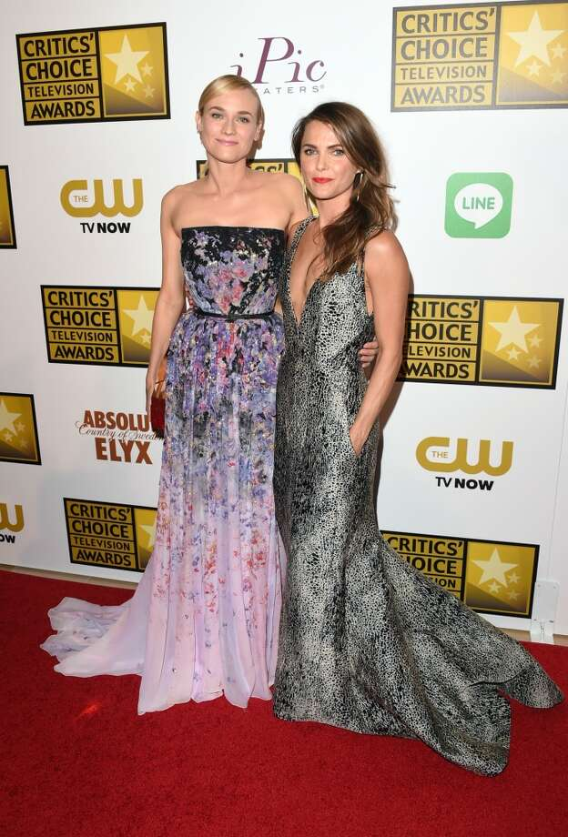 Actresses Diane Kruger (L) and Keri Russell attend the 4th Annual Critics' Choice Television Awards at The Beverly Hilton Hotel on June 19, 2014 in Beverly Hills, California.  (Photo by Jason Merritt/Getty Images for Critics' Choice Television Awards) Photo: Jason Merritt