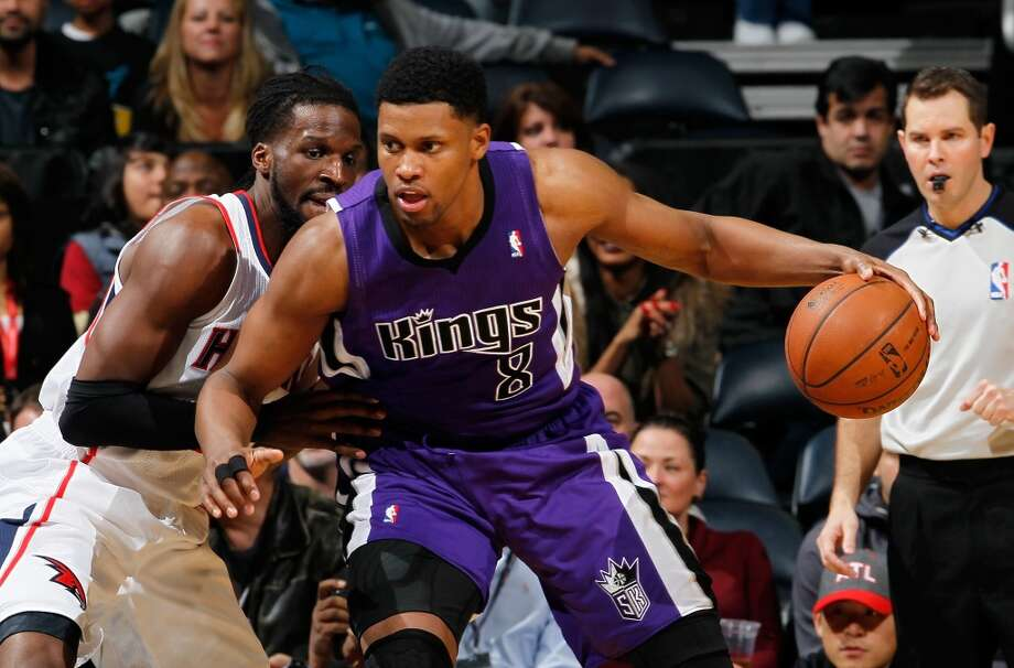 2006: Rudy Gay, first round, 8th overallOn draft night, the Rockets traded the UConn product, along with Stromile Swift, to the Grizzlies for Shane Battier. The swingman currently plays for the Kings. Photo: Kevin C. Cox, Getty Images