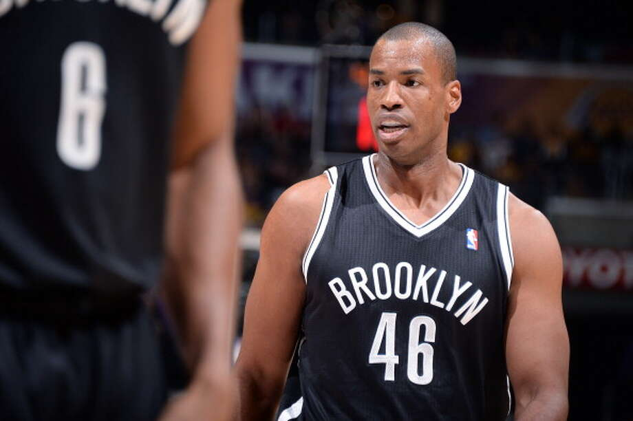 2001: Jason Collins, first round, 18th overallCollins never played for the Rockets as he and Richard Jefferson were traded on draft night to the Nets for Eddie Griffin. Collins has played for six teams during his 13-year career. In April 2013, he came out as the first openly gay active male athlete in the four major pro sports leagues. Photo: Andrew D. Bernstein, NBAE/Getty Images / 2014 NBAE