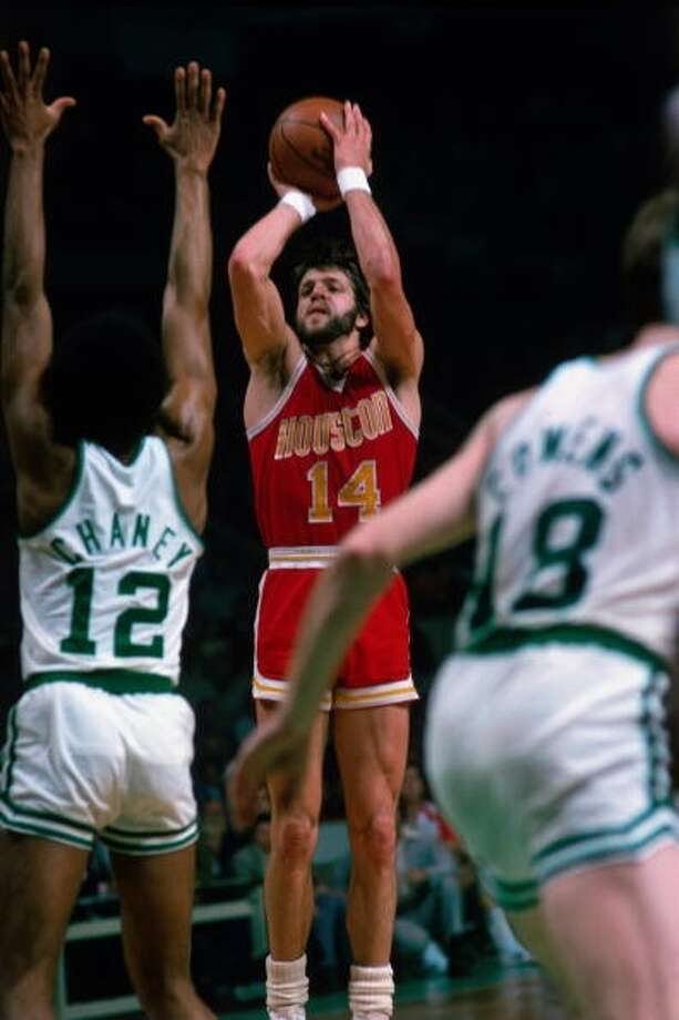 1971: Mike Newlin, second round, 24th overall Newlin averaged 14.9 points per game during his 11-year career, eight of which were with the Rockets. Photo: Dick Raphael, NBAE Via Getty Images