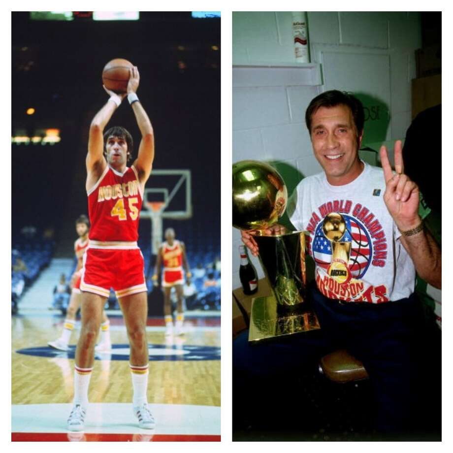 1970: Rudy Tomjanovich, first round, 2nd overall Rudy T played his entire 11-year career with the Rockets. The Michigan product was a five-time All-Star. During the 1991-92 season, Tomjanovich became the Rockets coach. He would lead the team to back-to-back titles (1993-94, 1994-95) during his 12-year run. Photo: Getty Images