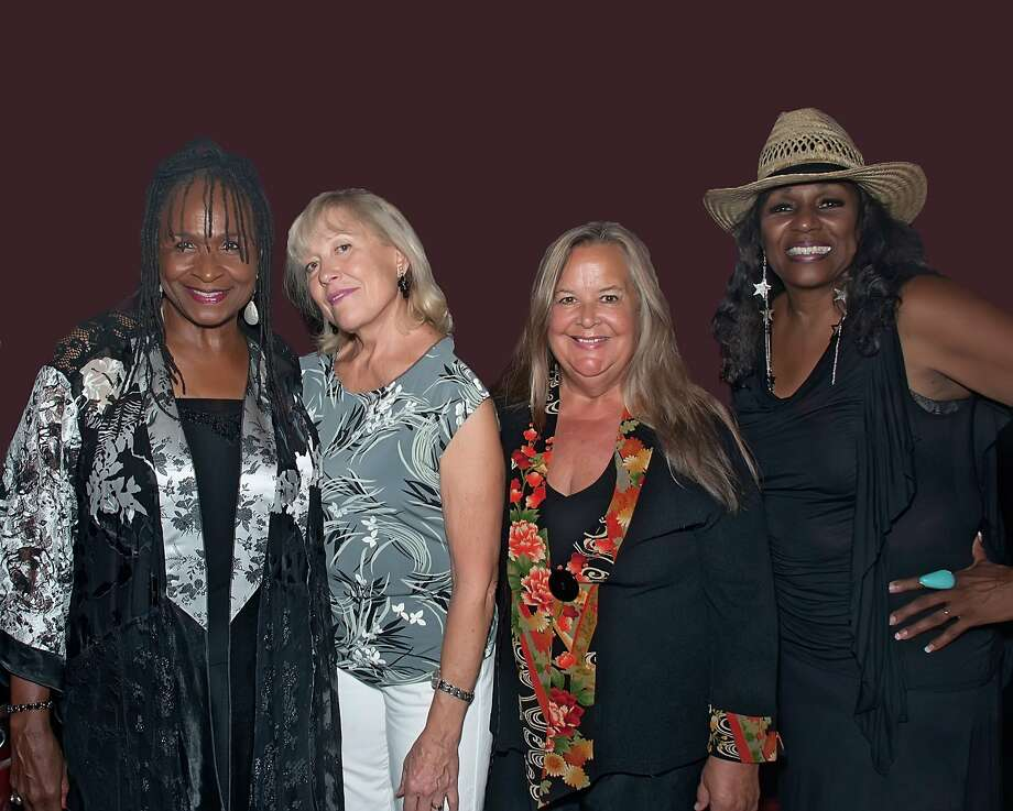 Annie Sampson (left), Angela Strehli, Tracy Nelson and Dorothy Morrison of the Blues Broads. Photo: Bob Hakins