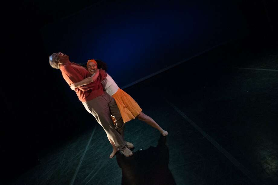 "Morris ""Daddy"" Amos and Tonya Marie Amos will perform to ""Dance With My Father."" Photo: Alan Kimara Dixon"