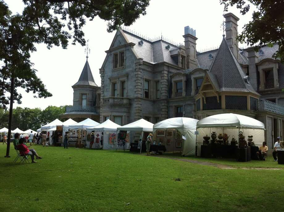 Mathews Park will be the site of the second annual Norwalk Arts Festival on June 28-29. More than 150 artists and artisans are expected on the grounds. Shown above is the Lockwood-Mathews Mansion Museum, which is in the park. Photo: Contributed Photo / Connecticut Post Contributed