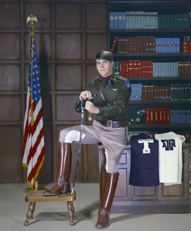 Rick Perry at Texas A&M Photo: Courtesy Of Cushing Memorial Library And Archives,  Texas A&M