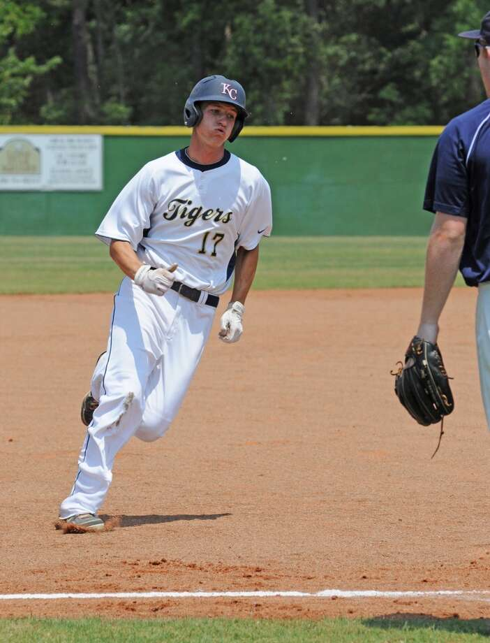 First team  OF - Jason Helms, Sr., Klein Collins  Not pictured:  OF - Jordan Powell, Sr., Kingwood Park Photo: L. Scott Hainline, The Chronicle