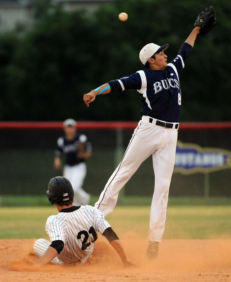 Second team  P - Joey Pulido, Sr., Brazoswood  Not pictured:  P - Blake Wellmann, Jr., Brenham  P - Brady Basso, So., Pearland  P - Aaron Smith, Sr., Huffman  P - Mitchell Kilkenny, Jr., Houston Christian Photo: Eric Christian Smith, For The Chronicle