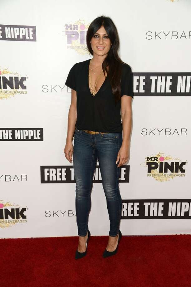"Anita Gohari attends the ""Free The Nipple"" fundraiser hosted by Russell Simmons at SkyBar at the Mondrian Los Angeles on June 19, 2014 in West Hollywood, California. Photo: Araya Diaz, Getty Images"