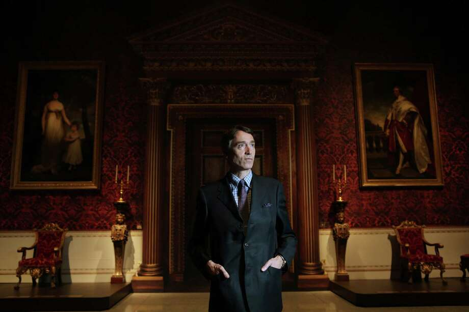 """Lord David Cholmondeley, the owner of England's historic Houghton Hall estate, is photographed in the exhibit """"Houghton Hall: Portrait of an English Country House"""" at Museum of Modern Art Houston on Thursday, June 19, 2014, in Houston, Tx. ( Mayra Beltran / Houston Chronicle ) Photo: Mayra Beltran, Staff / © 2014 Houston Chronicle"""