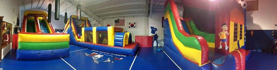 PARTY PLACE:TKA's Bounce-N-Play,7310 Hwy 105, Beaumont,(409) 892-9352.www.TKAUSA.com