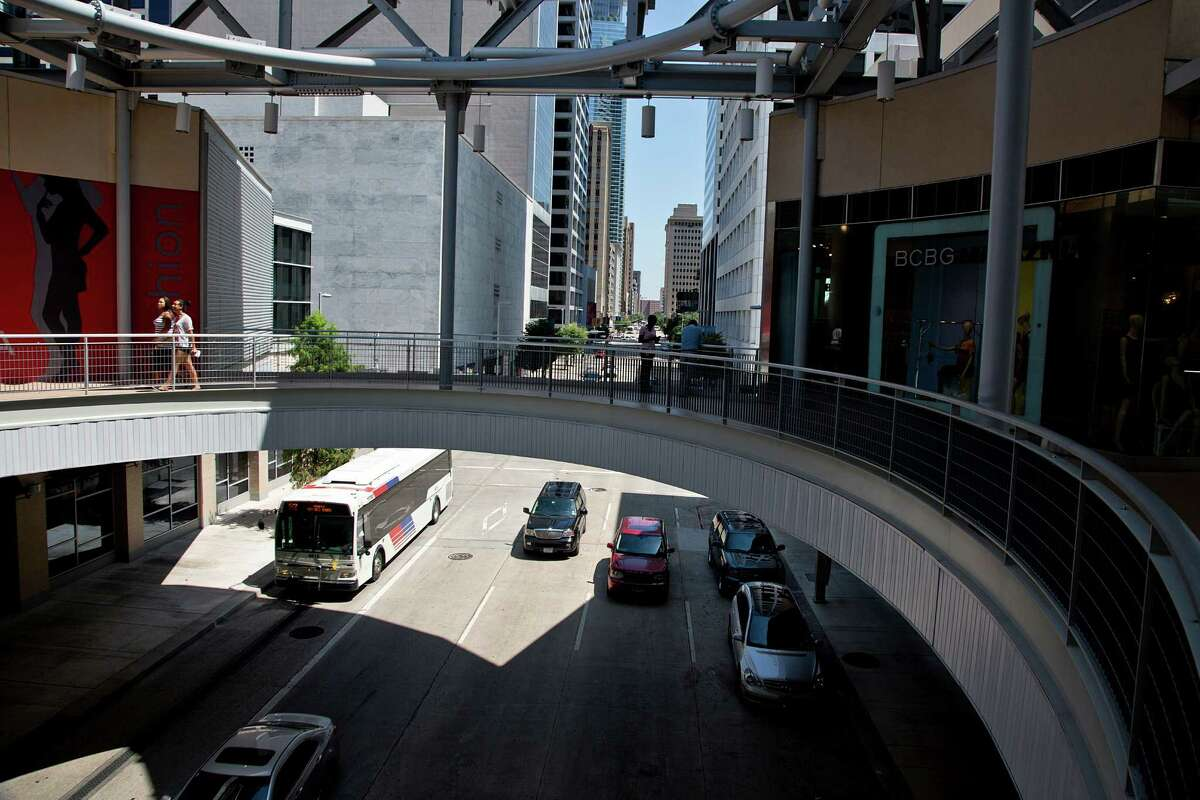 Projects like downtown's GreenStreet, which combine office and retail space, are designed to be more walkable and connect to more transportation options.