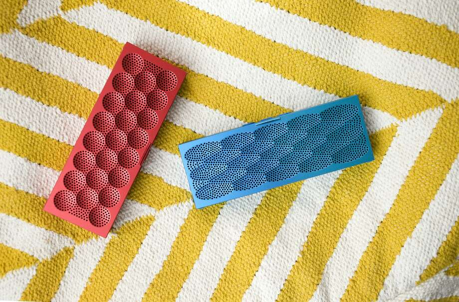 The Jawbone Mini Jambox gives great sound and takes up little space. Photo: Jawbone