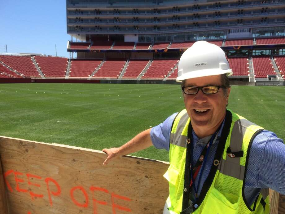 Levi's Stadium Project Executive Jack Hill. (Al Saracevic/San Francisco Chronicle)