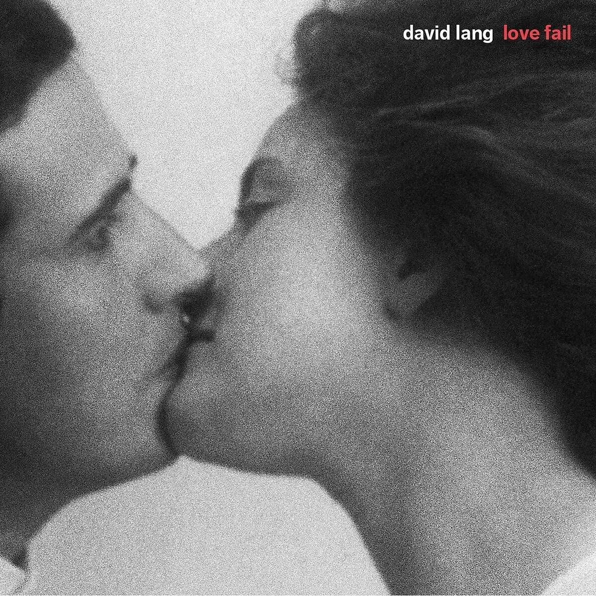 """cd cover: """"David Lang: Love Fail"""""""