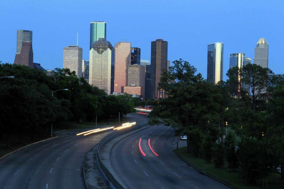 Downtown Houston Skyline on May 14, 2014, in Houston, Tx.  ( Mayra Beltran / Houston Chronicle ) Photo: Mayra Beltran, Staff / © 2014 Houston Chronicle