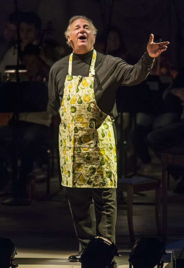 "Baritone Kim Josephson portrays Charles Rosen in ""The Classical Style."" Photo: David Bazemore"