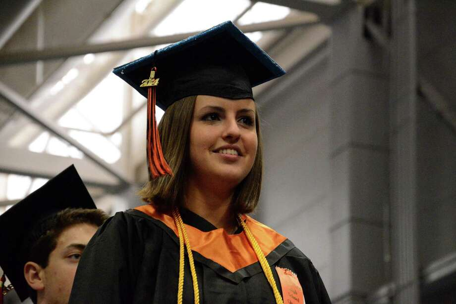 Ridgefield High Schools Commencement Ceremony took place on Friday, June 20,2014 at Western Connecticut State Universities O'Neill Center. Photo: Lisa Weir / The News-Times Freelance
