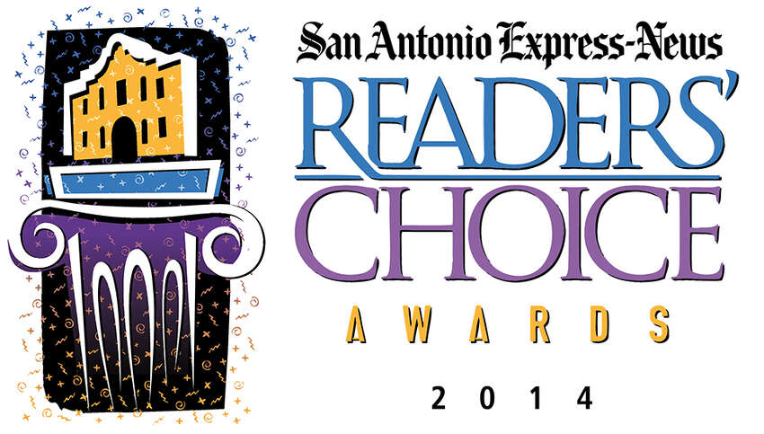 Click through the slides to see the complete list of winners in the San Antonio Express-News' 2014 Readers' Choice Awards.