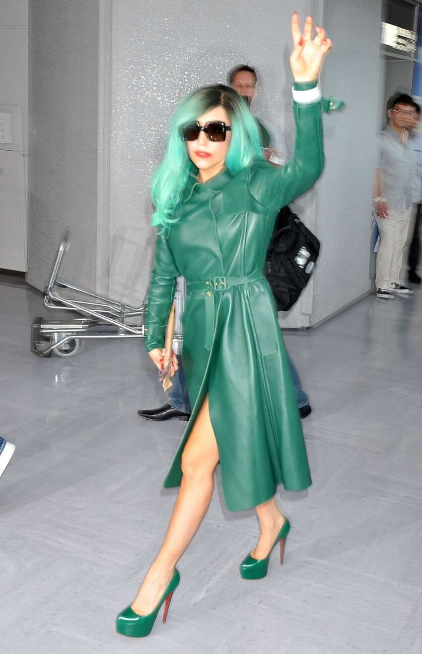 NARITA, JAPAN - JUNE 21: Singer Lady Gaga arrives at Narita International Airport on June 21, 2011 in Narita, Japan. (Photo by Jun Sato/WireImage)