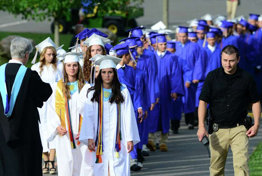 Seymour High School's 127th Commencement Ceremony in Seymour, Conn. on Friday June 20, 2014. Photo: Christian Abraham / Connecticut Post