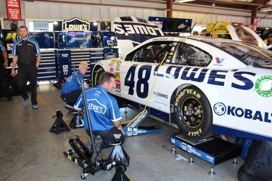Jimmie Johnson's Chevrolet.