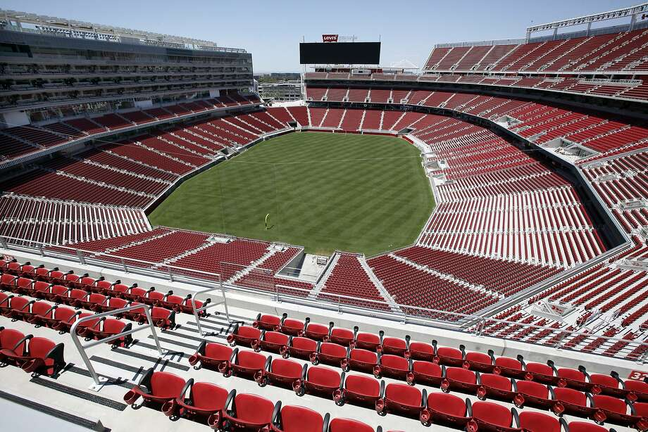 The 49ers' new home, the $1.3 billion Levi's Stadium in Santa Clara, is nearly ready for football. Photo: Michael Short, The Chronicle