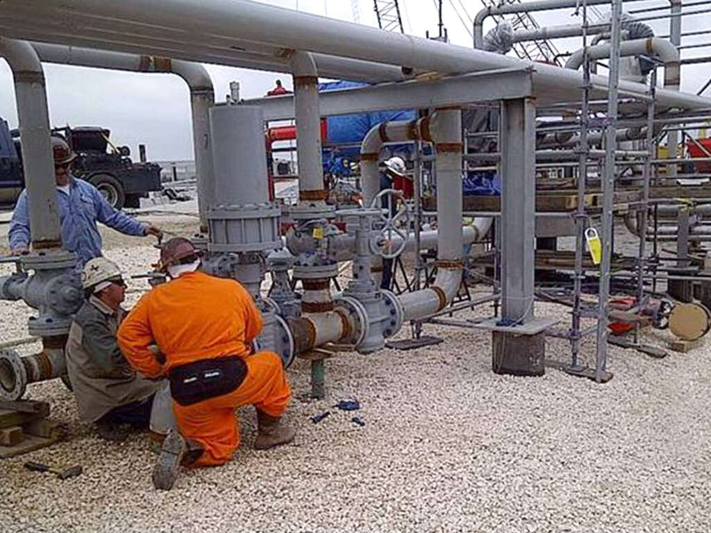 Targa Resources Employees Work At A Galena Park Terminal The Companys Assets Include 11300 Miles