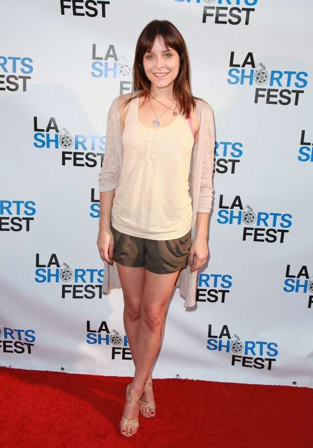 WEST HOLLYWOOD, CA - JULY 22:  Jenny Mollen arrives at the opening night of the LA Shorts Fest '10 at Laemmle Sunset 5 Theatre on July 22, 2010 in West Hollywood, California.  (Photo by Angela Weiss/WireImage) Photo: WireImage