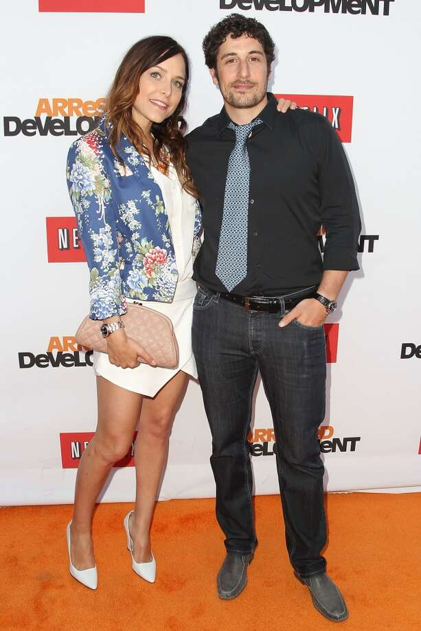 "HOLLYWOOD, CA - APRIL 29:  (L-R)  Jason Biggs and Jenny Mollen attend the Netflix's Los Angeles Premiere Of ""Arrested Development"" Season 4 at TCL Chinese Theatre on April 29, 2013 in Hollywood, California.  (Photo by Jonathan Leibson/WireImage) Photo: WireImage"