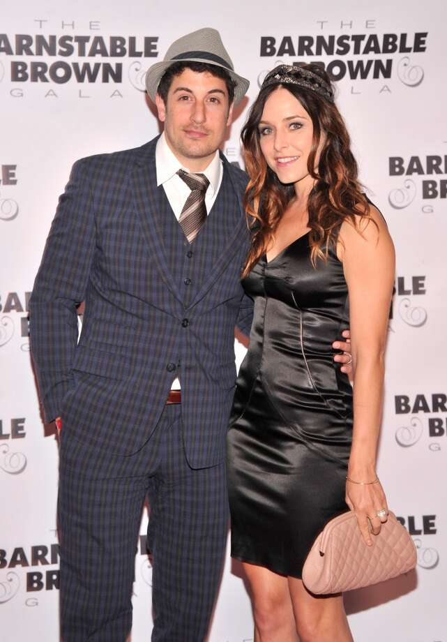 LOUISVILLE, KY - MAY 03:  Actor Jason Biggs and Jenny Mollen attend the 2013 Barnstable-Brown Derby gala at Barnstable-Brown House on May 3, 2013 in Louisville, Kentucky.  (Photo by Stephen Lovekin/Getty Images) Photo: Getty Images