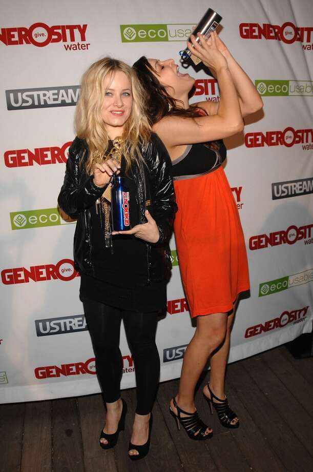 WEST HOLLYWOOD, CA - MARCH 22:  Samantha Mollen and Jenny Mollen attend Generosity Water's 2nd Annual Night Of Generosity on March 22, 2010 in West Hollywood, California.  (Photo by Duffy-Marie Arnoult/Getty Images) Photo: Getty Images