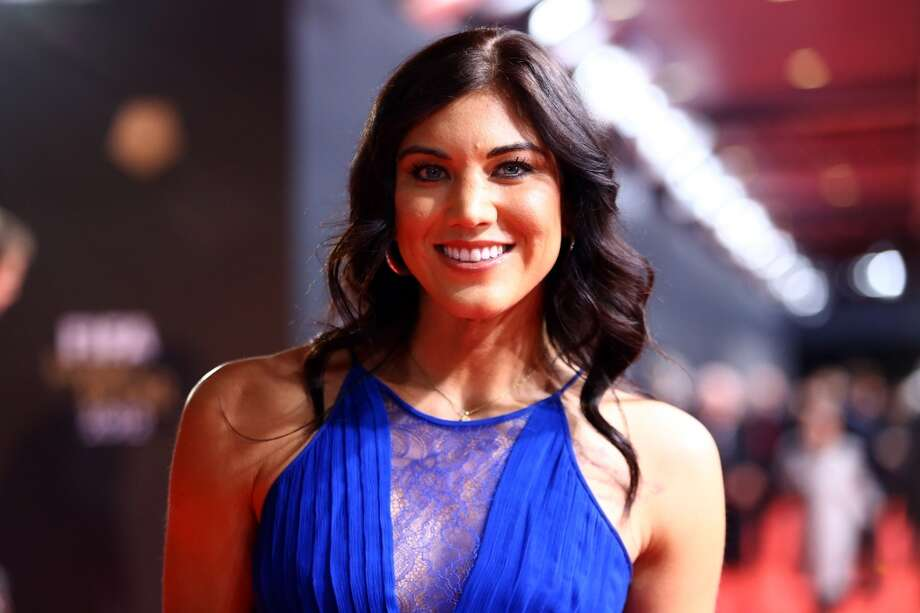 ZURICH, SWITZERLAND - JANUARY 07: Hope Solo poses during the red carpet arrivals for the FIFA Ballon d?Or Gala 2012 on January 7, 2013 at Congress House in Zurich, Switzerland. (Photo by Christof Koepsel/Getty Images) Photo: Getty Images