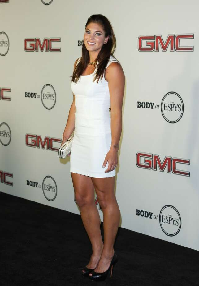 HOLLYWOOD, CA - JULY 16:  Pro Soccer Player Hope Solo attends the ESPN's 5th Annual Body At ESPYS at Lure on July 16, 2013 in Hollywood, California.  (Photo by Paul Archuleta/FilmMagic) Photo: FilmMagic