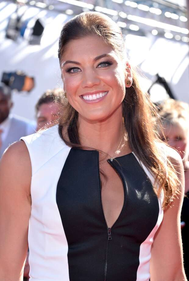LOS ANGELES, CA - JULY 17: USA soccer player Hope Solo attends The 2013 ESPY Awards at Nokia Theatre L.A. Live on July 17, 2013 in Los Angeles, California.  (Photo by Alberto E. Rodriguez/Getty Images for ESPY)