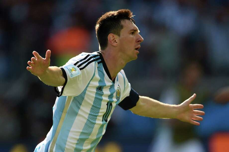 June 21Argentina 1, Iran 0 Photo: PEDRO UGARTE, AFP/Getty Images / AFP