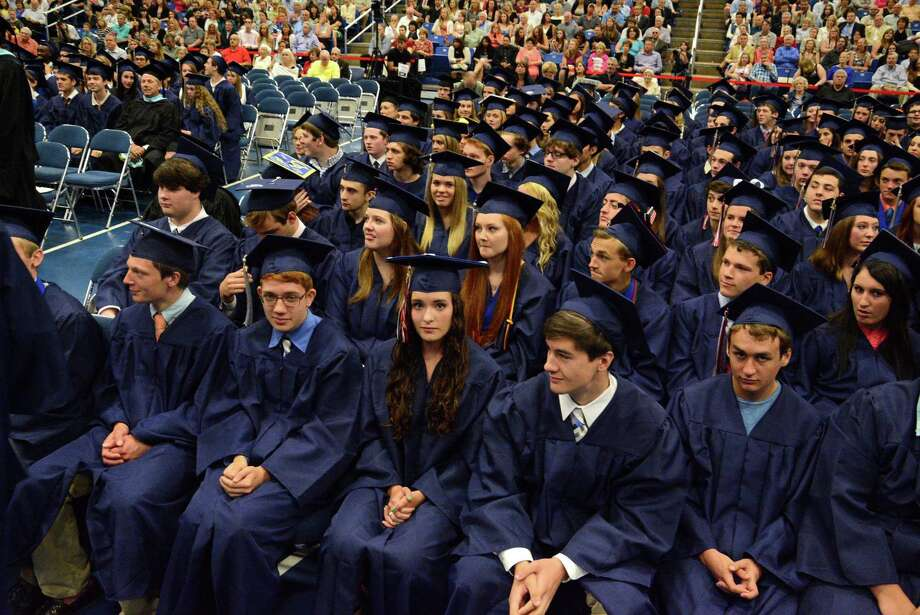 New Fairfield High Schools Commencement ceremony took place Saturday, June 21, 2014 at Western Connecticut State University at the O'Neill Center. Photo: Lisa Weir / The News-Times Freelance