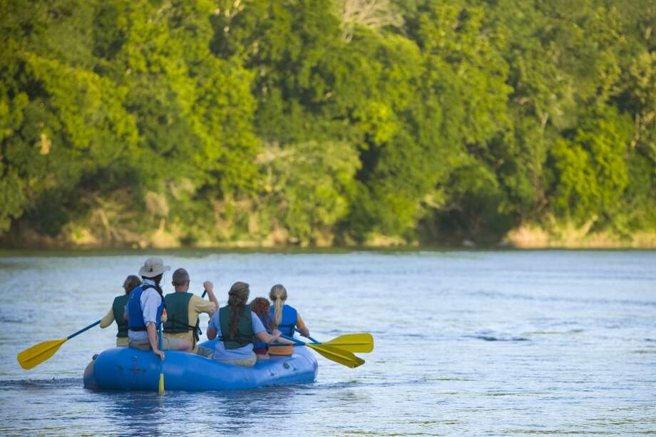 What's summer without a dip in the river? Get wet or take a leisurely float in the Colorado River on your visit to Bastrop. Photo: Courtesy Photo, Bastrop CVB