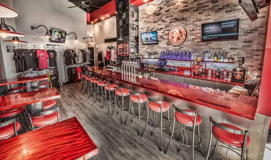 Sin City Brewing Co. has opened its first stand-alone bar on the Strip, at Harmon Avenue and Las Vegas Boulevard. Photo: Tom Donoghue, Sin City Brewing Co.