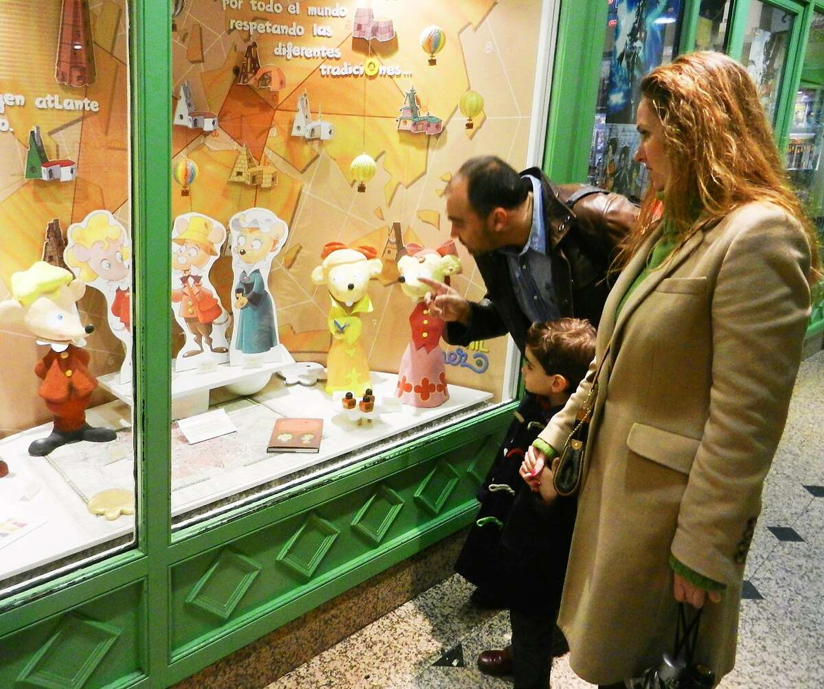 A lesson in cultural differences is part of the fun at Madrid's Casita Museo de Ratón Pérez, which celebrates a mouse who serves as the tooth fairy of Spain. RS12Spring_100.JPG