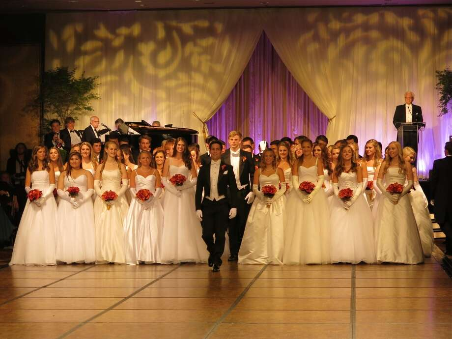 34 young ladies made their debut June 14 at the St. Francis Hotel during the Women's Board 50th California Pacific Medical Center Foundation'sSan Francisco Debutante Ball. Photo: Catherine Bigelow