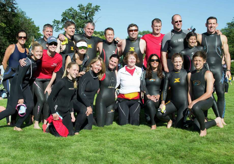 The eight annual Greenwich-Stamford Swim Across America raised funds for cancer gene therapy research at Alliance for Cancer Gene Therapy. The event took place at Cummings Point in Stamford on Saturday, June 21. Were you SEEN? Photo: Hearst Connecticut Media Group