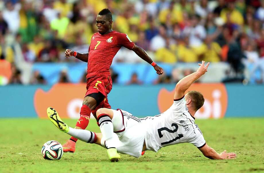 June 21Ghana 2, Germany 2 Photo: Laurence Griffiths, Getty Images / 2014 Getty Images