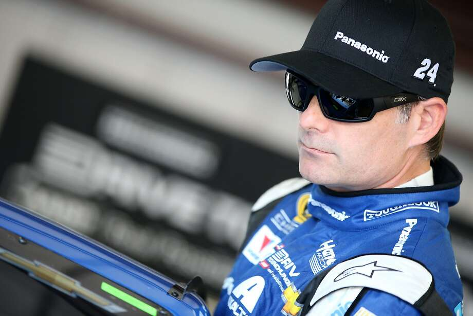Though he qualified only 15th Saturday, onetime Vallejo resident Jeff Gordon tops the 2014 point standings. Photo: Brian Lawdermilk, Getty Images