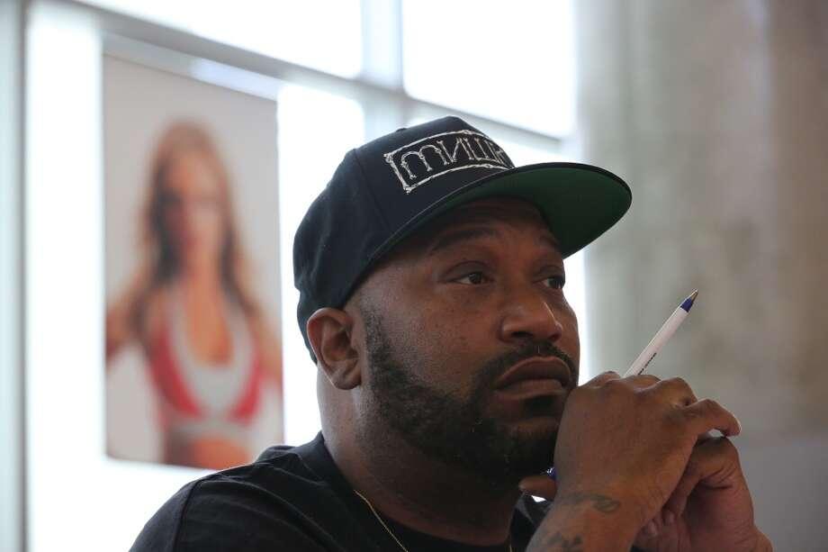 Houston rapper Bun B.  Photo: Thomas B. Shea, For The Chronicle