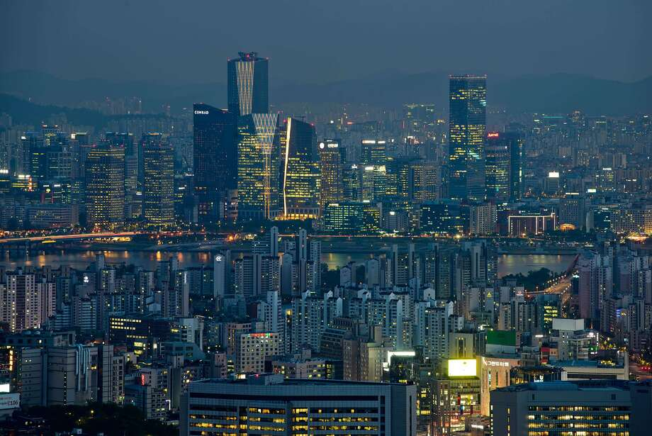Seoul, South Korea's capital and one of the most wired cities in the world, has blossomed since the war. Photo: Ed Jones, AFP/Getty Images