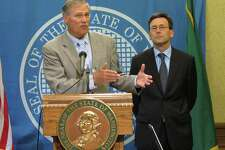 Bob Ferguson, Attorney General (right, with Gov. Jay Inslee) Salary: $145,396